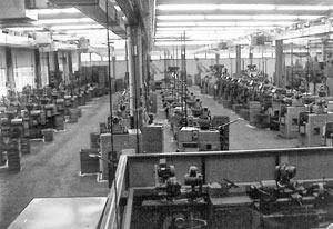 Vosseler - Maschinenhalle 1970