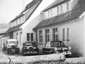 Vosseler - Gebäudeansicht 1950