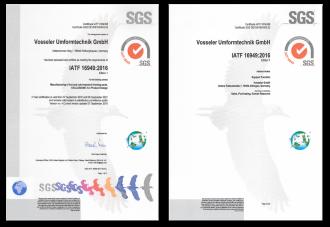 Zertifikate am Standort Hildburghausen